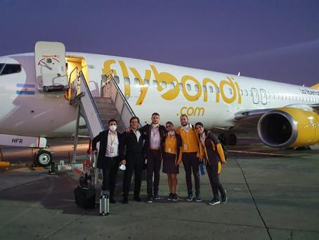 Somos la primera low cost argentina en realizar vuelos de repatriación