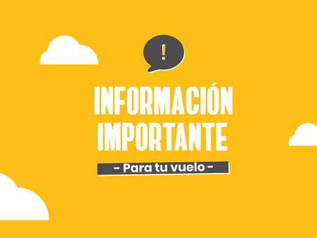 Información importante | COVID-19
