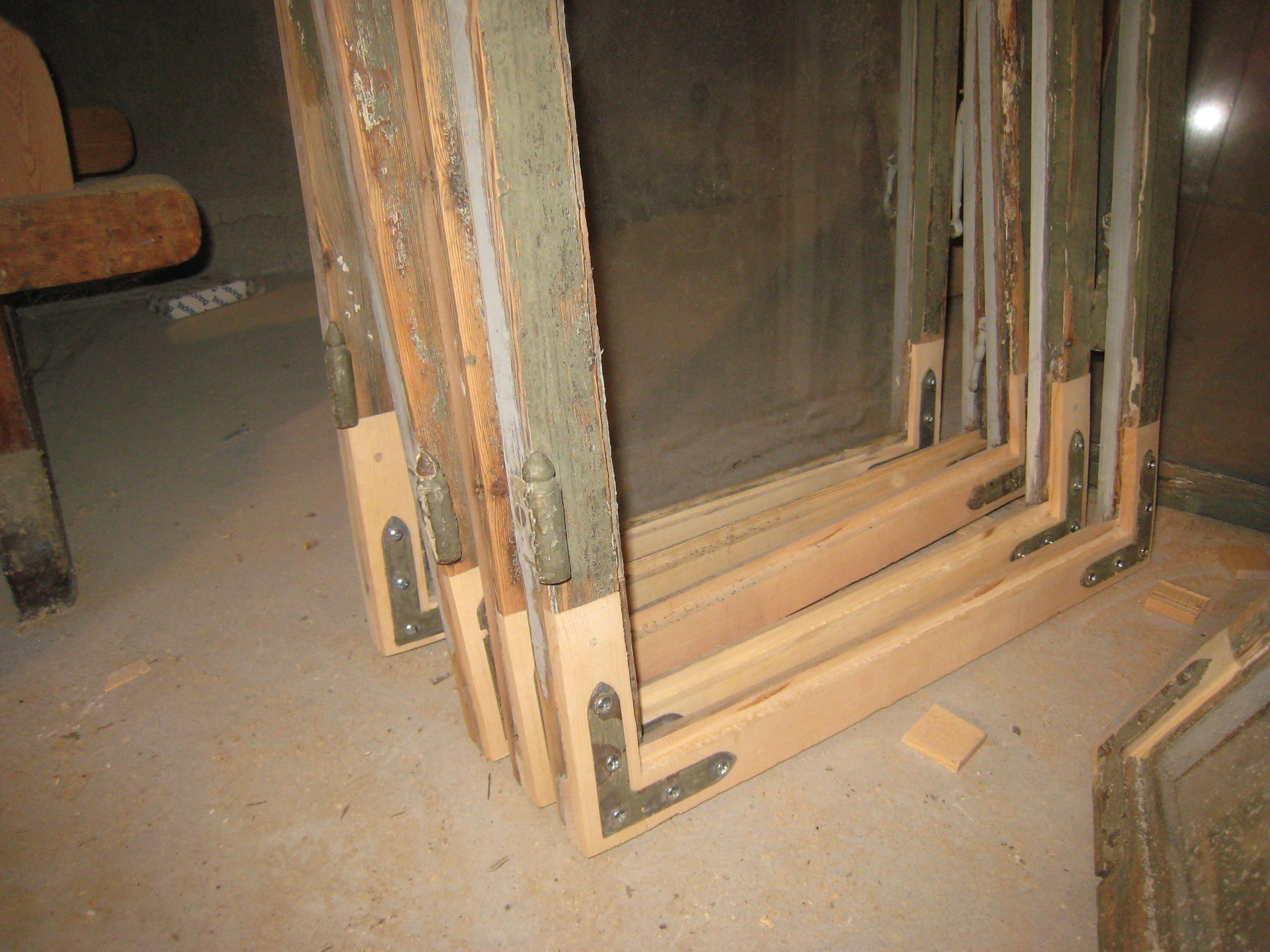 Restaurere gamle vinduer