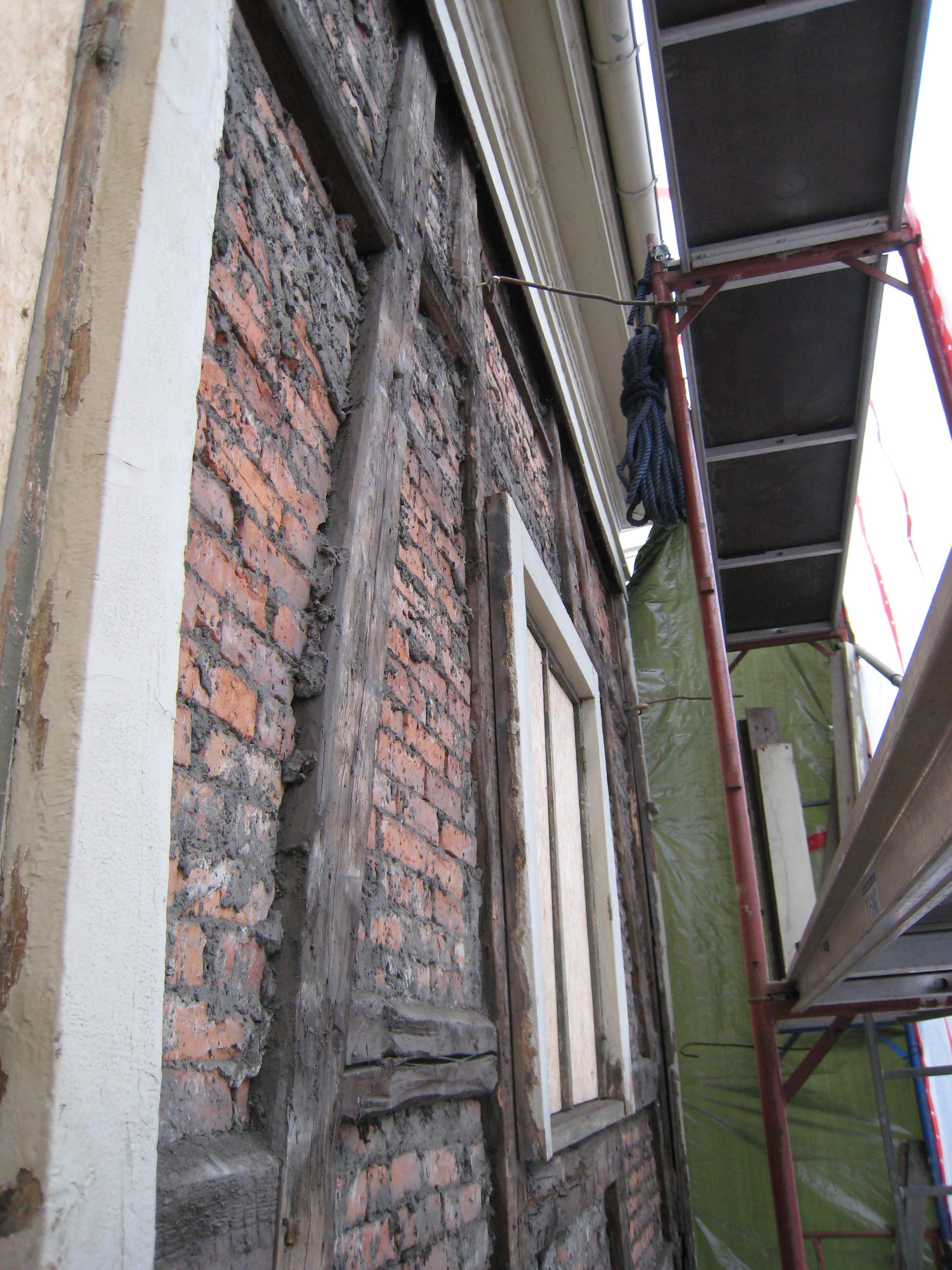 Rehabilitering av vest-vegg