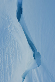 Icy Chasm in Greenland