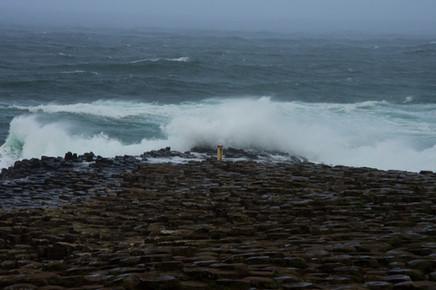Stormy Giant's Causeway