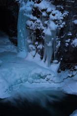 Icy Waterfall in Abisko