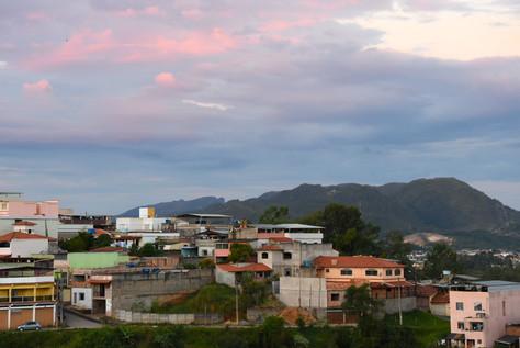 Sunset over São João del Rei