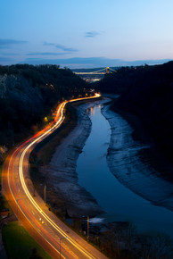 Suspension Bridge Lights