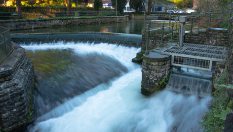River Infrastructure in Cheddar