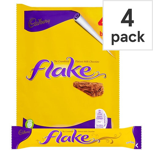Cadbury's Flake 4 bars