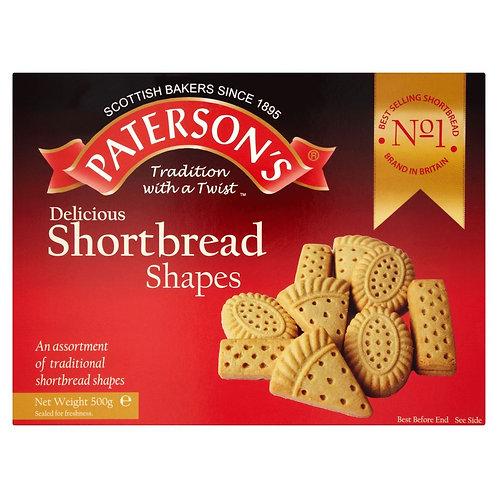 Paterson's Shortbread Shapes