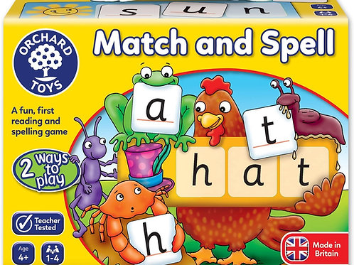 Match and Spell - Orchard Toys