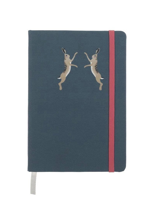 Hare Small Fabric Notebook (Sophie Allport)