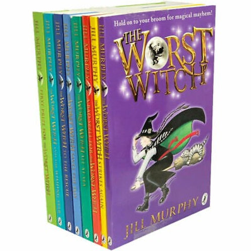 The Worst Witch Complete Adventure 8 Books