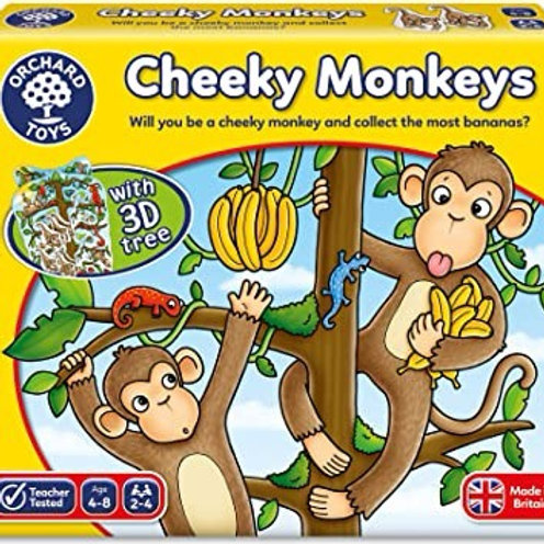 Cheeky Monkeys Game (Orchard Toys)