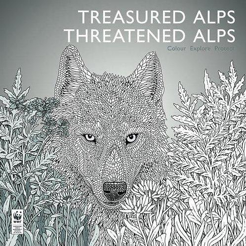 Treasured Alps Threatened Alps Colouring Book