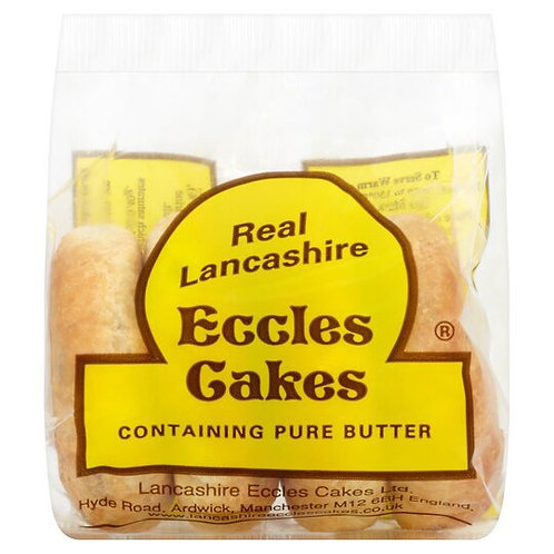 Real Lancashire Eccles Cakes 4 Pack