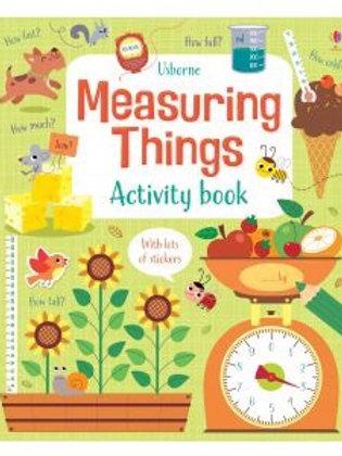Usborne Measuring Things Activity Book