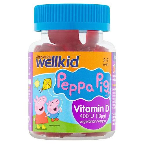 Vitabiotics Wellkid Peppa Pig Vitamin D 30 per pack