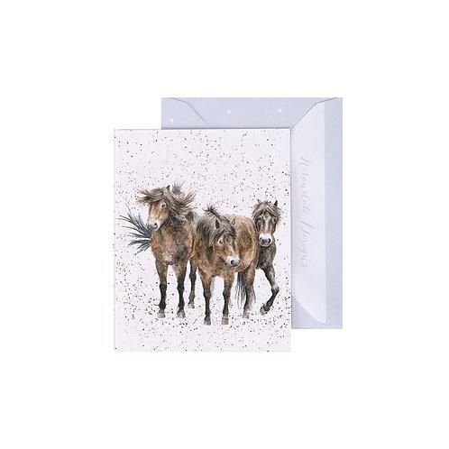 Wrendale Mini Card - Three Amigos
