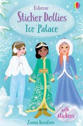 Ice Palace (Usborne Sticker Dolly Story) by Zanna Davidson
