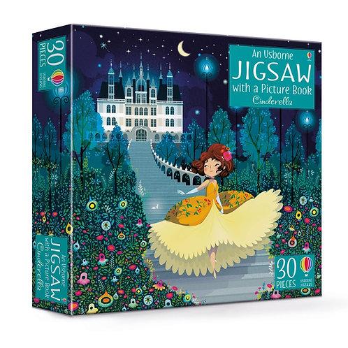 Usborne Book & Jigsaw - Cinderella