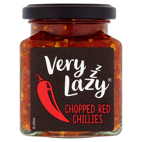 Very Lazy Chopped Red Chillies