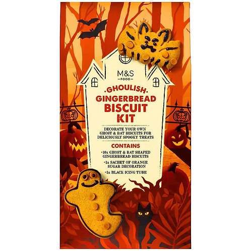 M&S Ghoulish Gingerbread Biscuit Kit