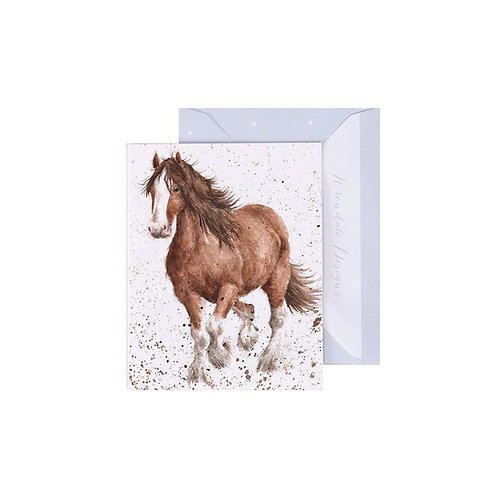 Wrendale Mini Card - Feathers