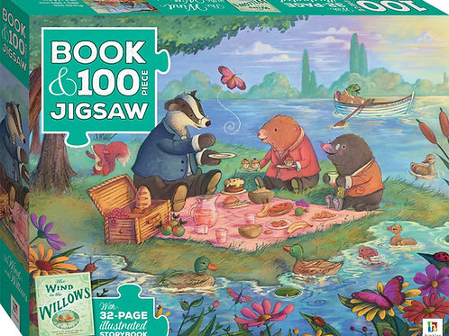 Book & Jigsaw - Wind in the Willows