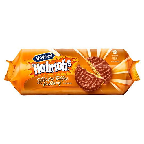 Hobnobs Sticky Toffee Pudding Biscuits