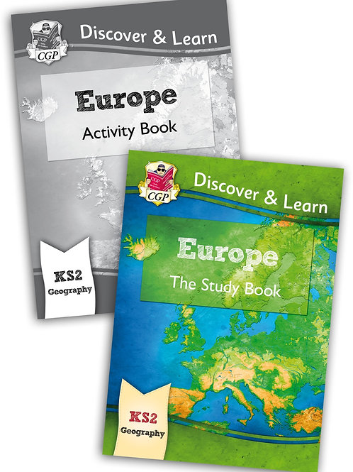 Discover & Learn Europe - Study & Activity Book Set