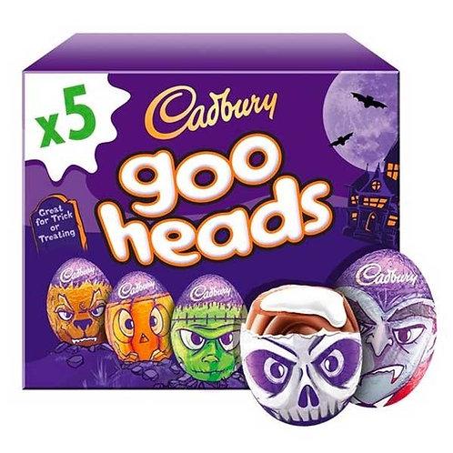 Cadbury Goo Head Creme Egg - 5 Pack