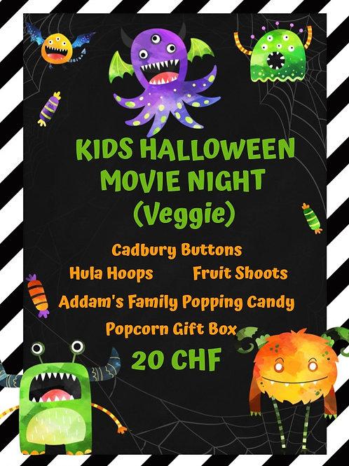 Kids Halloween Movie Night - Veggie (Pick Up 28-30th Oct)