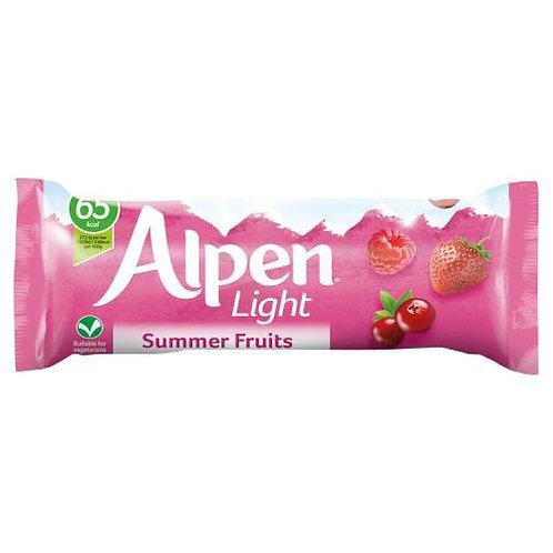Alpen Light Cereal Bars Summer Fruits