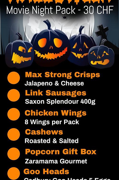 Halloween Movie Night Pack (Pick Up 28-30th Oct)