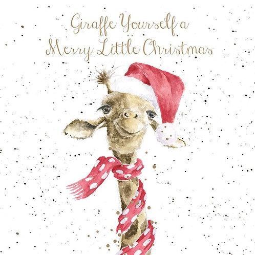 Wrendale Christmas Cards - Giraffe Yourself....