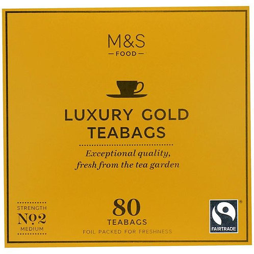 M&S Luxury Gold Teabags