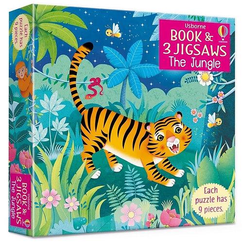 Usborne Book & Jigsaws: The Jungle