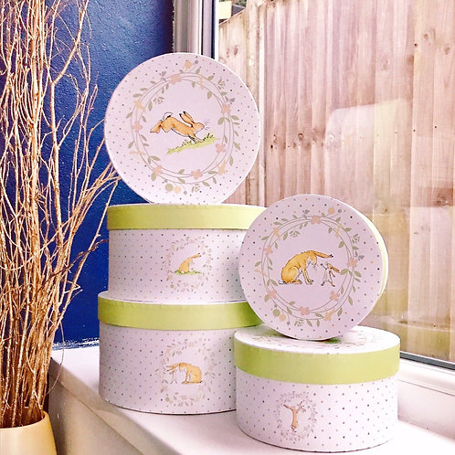 Guess How Much I Love You - Set of 5 Nesting Storage Boxes
