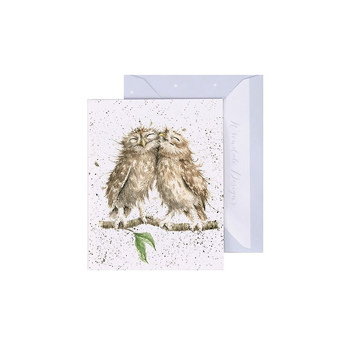 Wrendale Mini Card - Birds of a Feather