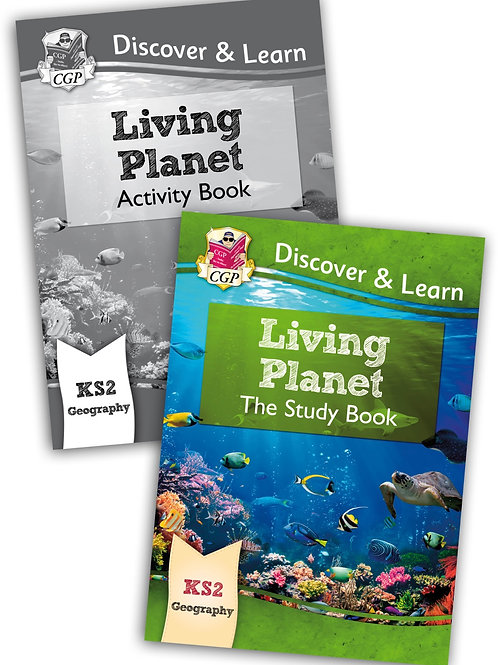Discover & Learn Living Planet - Study & Activity Book Set
