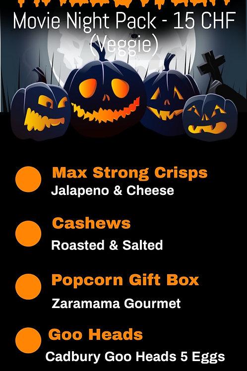 Halloween Movie Night Pack - Veggie (Pick Up 28-30th Oct)