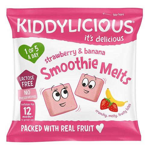 Kiddylicious Strawberry & Banana Smoothie Melt