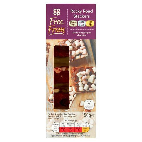 Co-op Free From Rocky Road Stackers