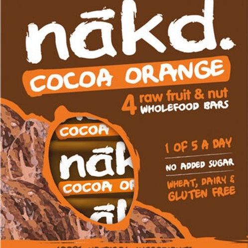 Nakd Cocoa Orange Bars