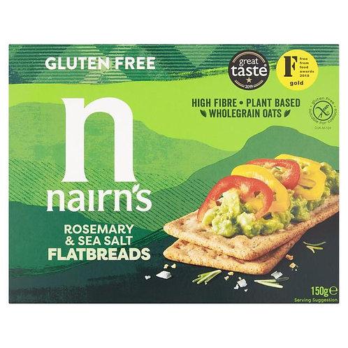 Nairn's Gluten Free Flatbread Rosemary & Sea Salt