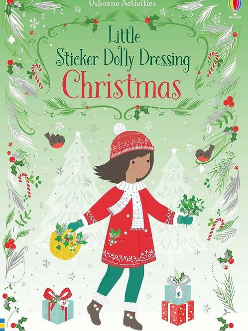 Little Sticker Dolly Christmas