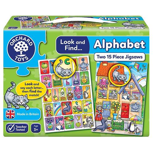 Alphabet Jigsaw - Orchard Toys