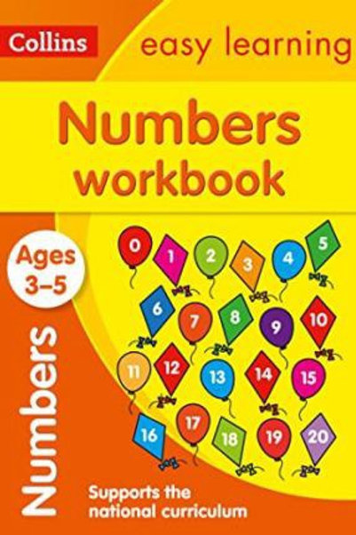 Collins Easy Learning - Numbers (Ages 3-5)