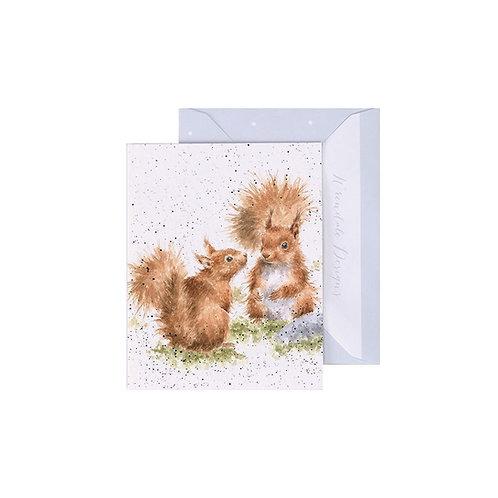 Wrendale Mini Card - Between Friends