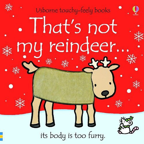 That's Not My Reindeer (Board Book)