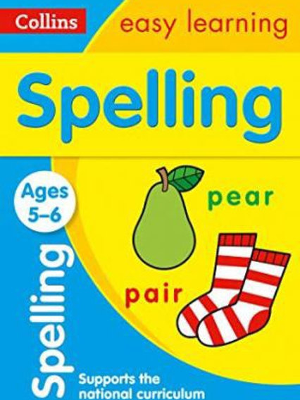 Collins Easy Learning - Spelling (Ages 5-6)